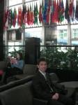 アメリカ国務省にて(ハーバード大学OB達を訪ねて)